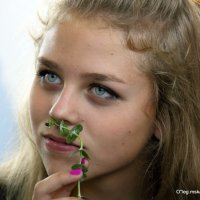 говорящие глаза-а :: Олег Лукьянов