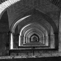 Андрей Воронин - 33 Sunrises Siosepol bridge Esfahan Iran :: Фотоконкурс Epson