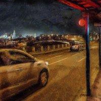 Ночною звездою снова, как встарь, светит мечтою красный фонарь :: Ирина Данилова