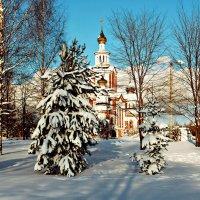Зима красавица.. :: Александр Архипкин