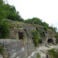 Чуфу́т-Кале́ - средневековый город-крепость :: Наиля