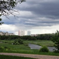 Город под темным небом :: Diana Razgulova