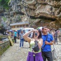 На Чегемских водопадах... :: Юлия Бабитко