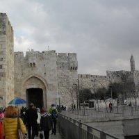 Вход В старый город В Иерусалиме :: Надежда