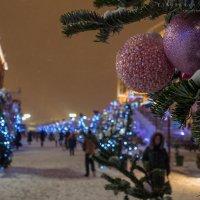 Праздничная Москва :: Ярослава Бакуняева