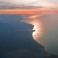 Зимний восход над Чёрным морем. :: Alexey YakovLev