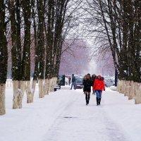 А снег идёт... :: Владимир Болдырев