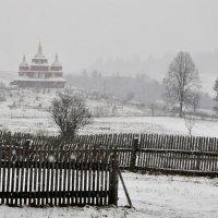 утро. снег. январь. :: Дмитрий Цымбалист