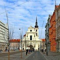 Монастырь Св. Томаша на Моравской площади в Брно :: Денис Кораблёв