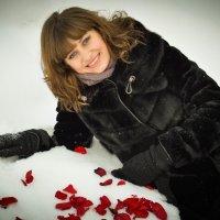 на снегу... :: Вероника Подрезова