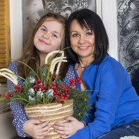 Мама с дочкой :: Екатерина Жукова
