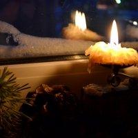 В этот зимний неласковый вечер... :: Ольга