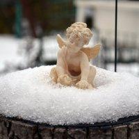 Ангелок и зима ) :: Наталья Мельникова