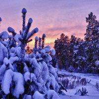 Необычный закат :: Светлана Игнатьева