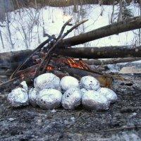рождественские яйца (картошка печёная) :: doberman