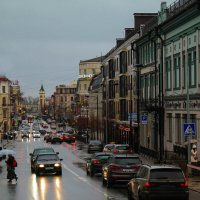 Дождливые сумерки. :: Евгения Кирильченко