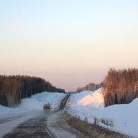 Зимняя дорога :: Иван Клещин