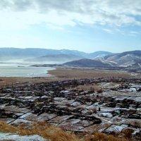 Посёлок Култук на берегу Байкала :: alemigun