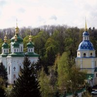 Выдубицкий монастырь весной :: Владимир Бровко