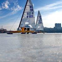 буера на льду Амурского залива :: Ingwar