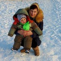 мама и сынок :: Вячеслав Завражнов