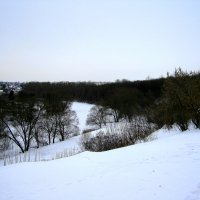 Дворянское гнездо зимой. :: Борис Митрохин