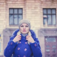 Зимний портрет :: Сергей Сергеичь