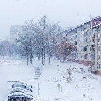 Снег валит в моём дворе :: Анатолий Иргл