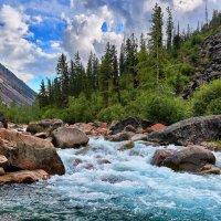 Сибирская горная река :: Виктор Никитин