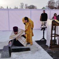 Освящение воды на р. Костроме 18 января  2016 г. :: Святец Вячеслав