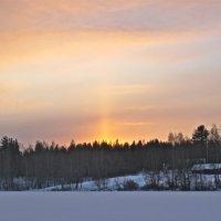 поздний северный восход :: Елена