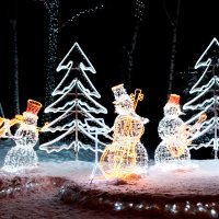 Снеговики :: Alex Bush