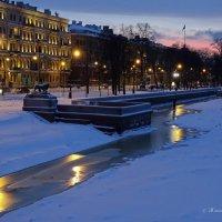 Санкт-Петербург. На закате :: Жанна Рафикова