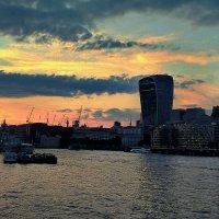 Закат в Лондоне :: Dasha Ald