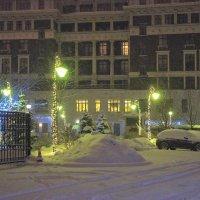 Снежная ночка... :: марк