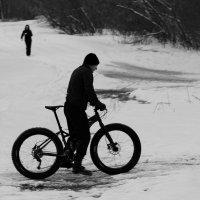 Снегогонщик :: Евгений (bugay) Суетинов