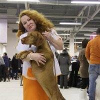 Дама с собачкой :: Ольга ОК Попова