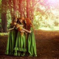 Три сестры :: Наталья Сергеева