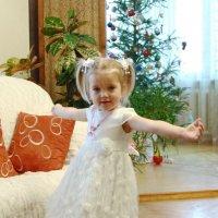 танец снежинки :: Владимир Акилбаев