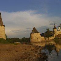 Устье реки Пскова :: Виктор Мухин