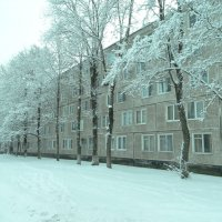 снежный город.. :: Михаил Жуковский