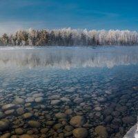 р. Бия в январе :: Sergey Oslopov