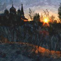Крещенский закат :: Евгений Юрков