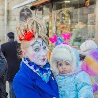 Клава с малышом :: Дмитрий Сушкин