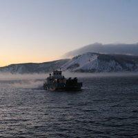 Паром из Порта Байкал. :: Lilija Philipp