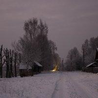 Вечер перед Рождеством... :: Людмила Комарова
