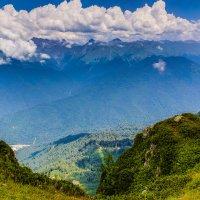 Кавказские горы :: Дмитрий Гольнев