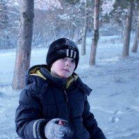 Школьники на лыжне 1 :: Валерий Талашов