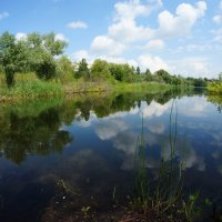 облака в реке :: Фролов Владимир Александрович