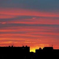 Закат в Екатеринбурге :: Александр Коликов